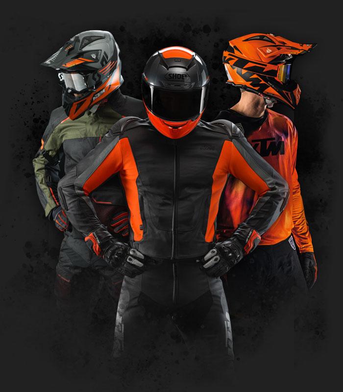 Pilotes Moto KTM